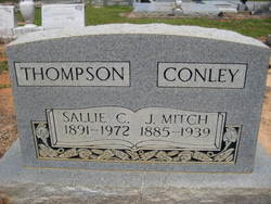 Sallie C <i>Thompson</i> Conley