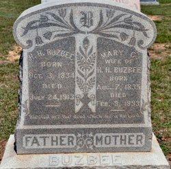 Mary C <i>Arnold</i> Buzbee
