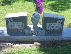Martha <i>Willis</i> Baker