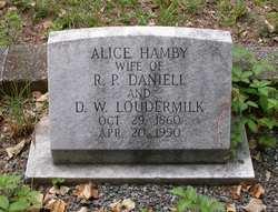 Alice Lee <i>Hamby</i> Daniell
