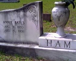 Annie <i>Bates</i> Ham