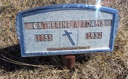 Aurella Catherine Simpson Cassy <i>Vance</i> Adams