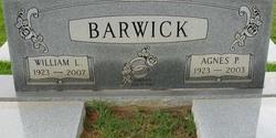 Agnes <i>Parramore</i> Barwick