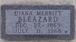 Elizabeth Diana <i>Merritt</i> Bleazard