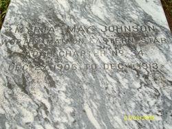 Myrta May <i>Gamble</i> Johnson