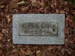 Mary Verina <i>Munch</i> Burch