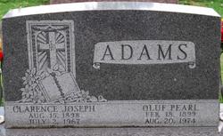 Oluf Pearl Adams