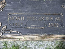 Noah Theodore Bellamy, Sr