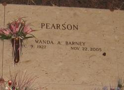 Wanda A <i>Barney</i> Pearson