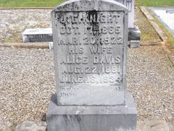 Alice Lutisha <i>Davis</i> Knight