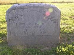 Louverna Katherine <i>Boring</i> Amonette
