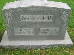 Mary Alice <i>Gettys</i> Neufer