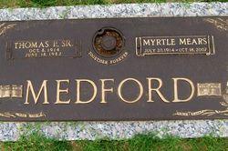 Myrtle Mae <i>Mears</i> Medford