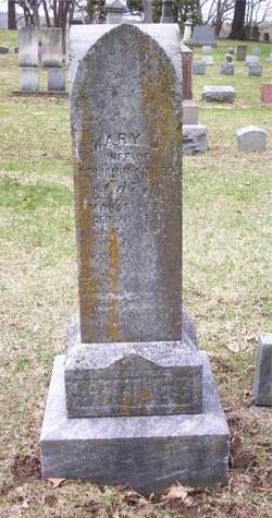 Mary Jane <i>Frederick</i> Sholes