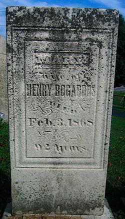 Mary <i>Badgley</i> Bogardus