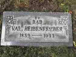 Valentine H. Falteen Heidenfelder