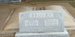 Martha Frances Fanny <i>Slaughter</i> Brooks