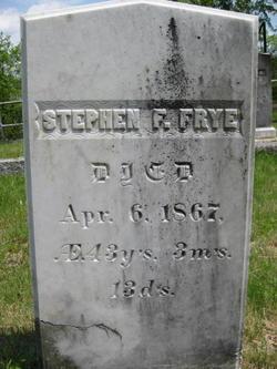 Stephen Farrington Frye