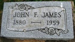John Frances James