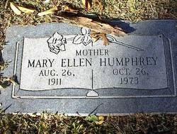 Mary Ellen <i>Garner</i> Humphrey