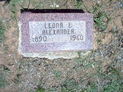 Leona Early <i>Morris</i> Alexander