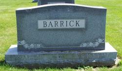 Alverta M <i>Burkholder</i> Barrick