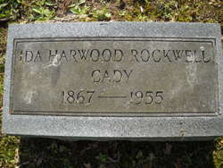 Ida Maila <i>Harwood</i> Cady