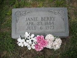 Janie <i>Houchens</i> Berry
