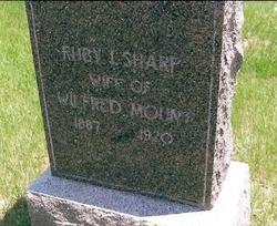 Ruby Irene <i>Sharp</i> Mount