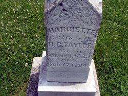 Harriette <i>Bennett</i> Taylor
