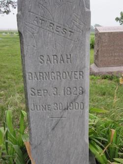 Sarah Barngrover