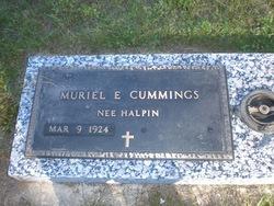 Muriel E. <i>Halpin</i> Cummings
