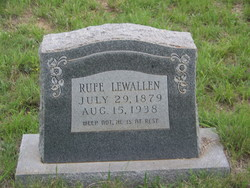 William Rufus Rufe Lewallen