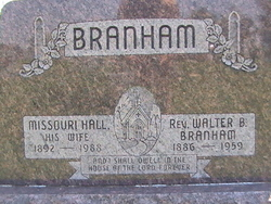 Missouri <i>Hall</i> Branham