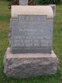 Nannie B Allmon