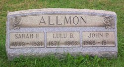 Lulu B <i>Russell</i> Allmon