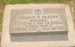 Charlie R Frazier