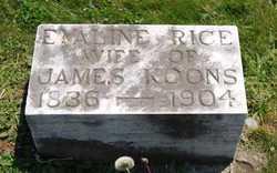 Nancy Evaline <i>Rice</i> Koons