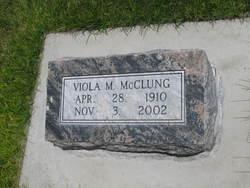 Viola M. <i>Foster</i> McClung