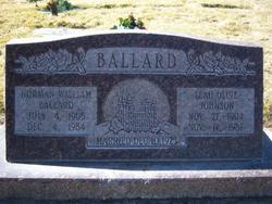 Leah Olive <i>Johnson</i> Ballard