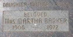 Martha M. <i>Schwarz</i> Barker