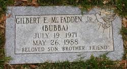 Gilbert E Bubba McFadden, Jr