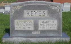 Silas Gordon Keyes