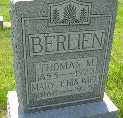Mary T Berlien