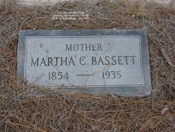 Martha C <i>James</i> Bassett