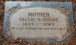 Sallie Savannah <i>Pittman</i> Boone