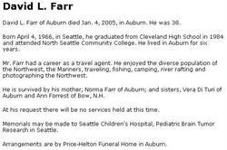 David Lee Farr