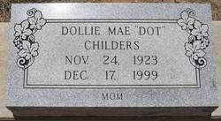 Dollie Mae <i>Davenport</i> Childers