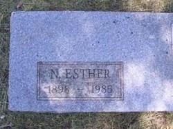 Nancy Esther <i>Brumbaugh</i> Carle