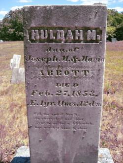 Huldah M. Abbott